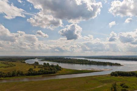 kama: Place of a confluence of the river Tojma to Kama