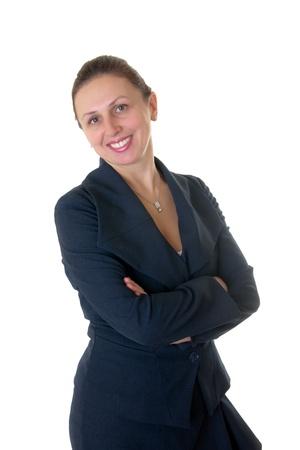 Portrait of a cute confident business woman Stock Photo - 8246394