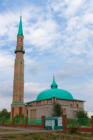 elabuga: Modern mosque in the city of Elabuga, Russia Stock Photo