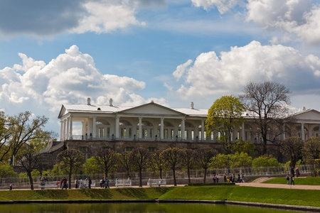 Cameron gallery in Catherine park of Tsarskoe Selo, Sankt-Peterburg Stock Photo - 16946868