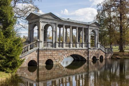 by catherine: Marble bridge in the Catherine Park, Sankt-Peterburg, Russia