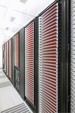 Modern server room