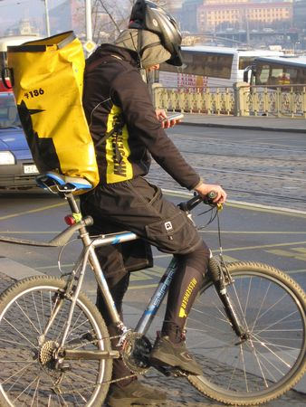 Bike Messenger photo