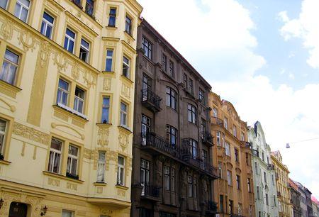 row houses: Row case