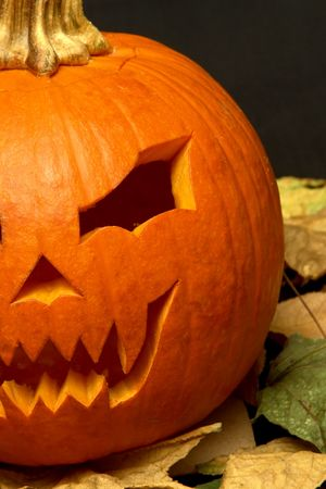 conner: Halloween pumpkin Stock Photo