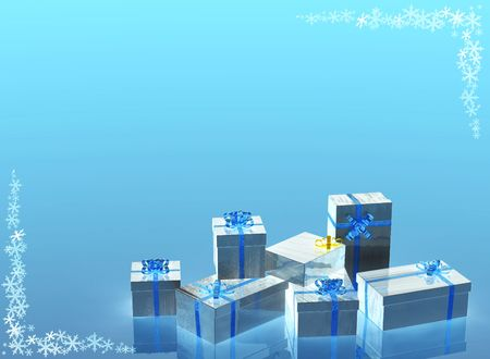 silvered: silvered christmas presents