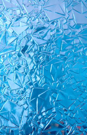 transparent cool blue ice, texture, background Stock Photo