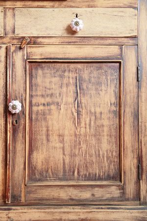 fragment of the antique wooden furniture Stock Photo - 4057858