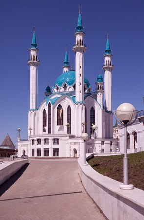 Kul Sharif mosque in Kazan Kremlin photo