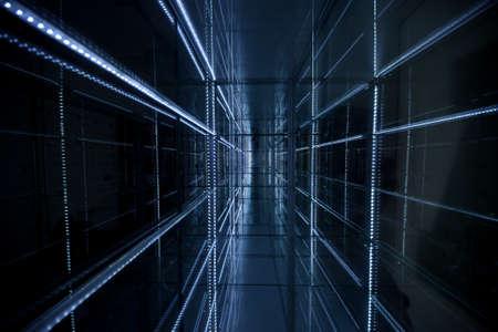 Estratto Texture sfondo blu Archivio Fotografico