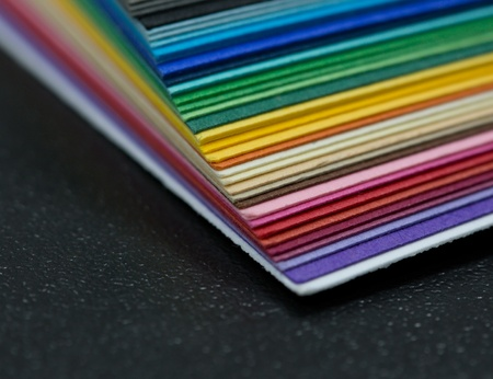 stack of colored paper for creative work  Stock Photo - 13747434