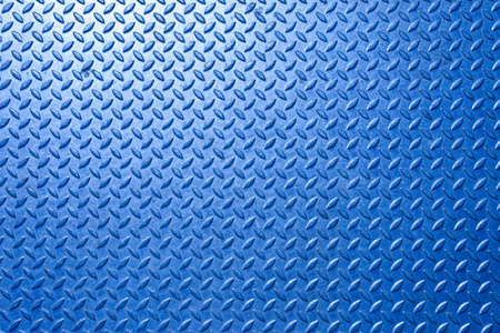diamond plate: Background of metal  plate in blue color