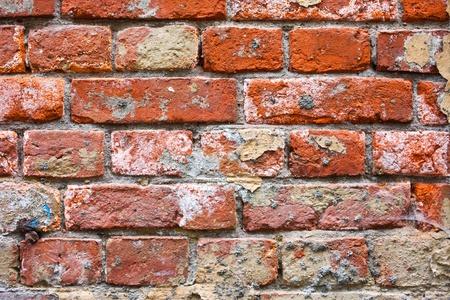 fragment of ancient masonry walls photo