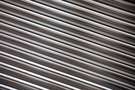 diagonal corrugated metal surface photo