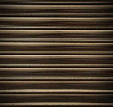 corrugation: corrugated metal background, instagram image style Stock Photo
