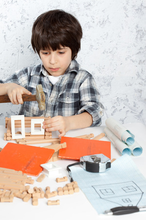 hummer: boy with hummer built a new home