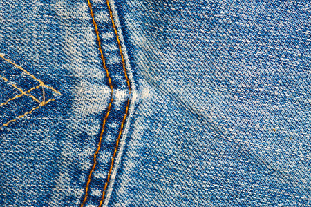 seams: jeans background with seams Stock Photo