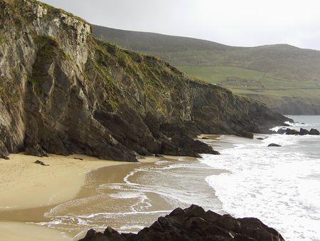 kerry: Scenic Dingle beach, county Kerry, Ireland
