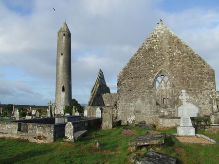 monastic: Historic Monastic settlement ruins