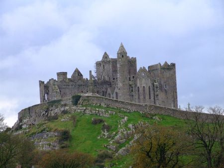 county tipperary: Rock of Cashel (historic monastic site in county Tipperary Ireland) Stock Photo