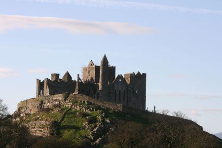 county tipperary: Rock of Cashe, County Tipperary, Ireland Stock Photo