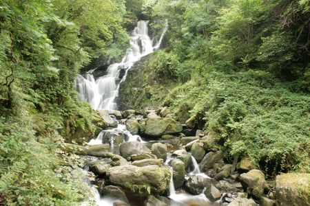kerry: Torc waterfall county Kerry, Ireland Stock Photo