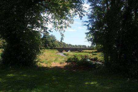 Scenic bridge in county Wexford Ireland Stock Photo - 3617468