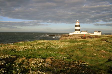 Hook head lighthouse in county Wexford Ireland (Europes oldest operational) photo