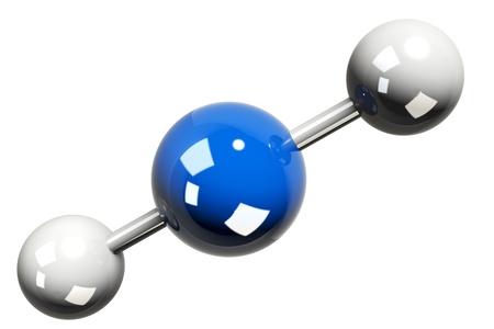 CO2 element model  photo
