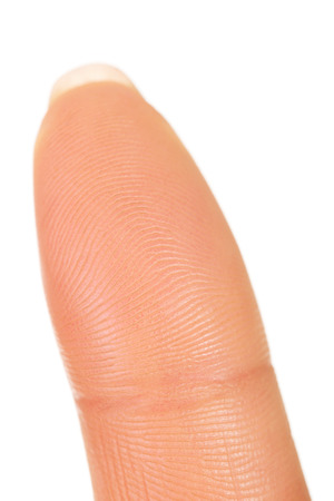 Macro view of a finger print photo