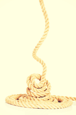 enrolled: Enrolled rope.