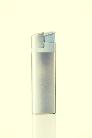 One and seperated silver lighter. photo