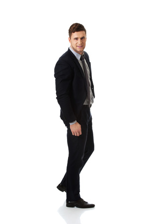 formalwear: Successful confident businessman in formalwear. Stock Photo