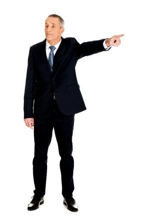 full length: Full length boss dismissing someone.