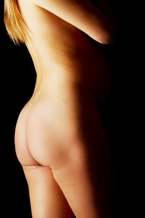 well groomed: Well groomed female pregnancy body