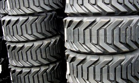 Industrial Tire Stacks