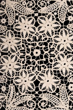 collectibles: Handmade antique lace Stock Photo