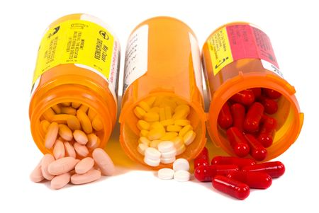 Different kinds of medication photo