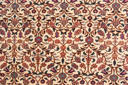 oriental rug: Antique handmade oriental carpet (made with natural root colors)