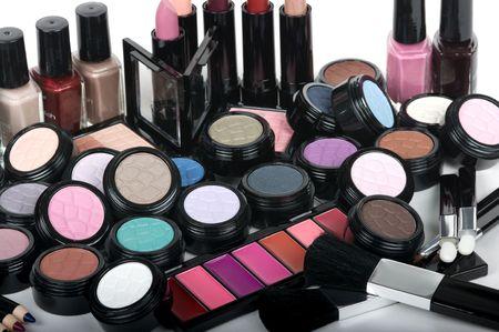 Professional make up set Stock Photo - 3989418