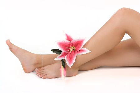salon and spa: Beautiful legs in a spa