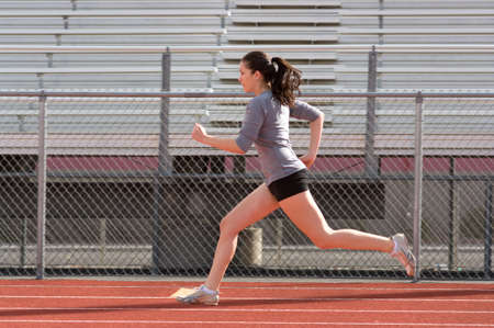 teen legs: Teen athlete during practise