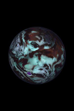 sconosciuto: Sconosciuto pianeta Archivio Fotografico