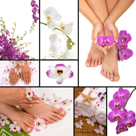 pedicura: Spa collage
