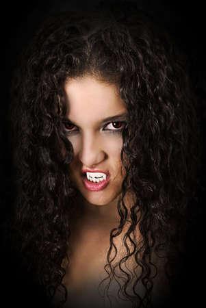vampire girl photo