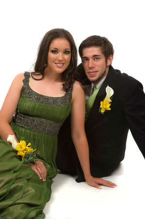 Teens at their prom Stock Photo - 6339821