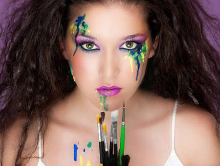 Make up is an art form Stock Photo - 11236008