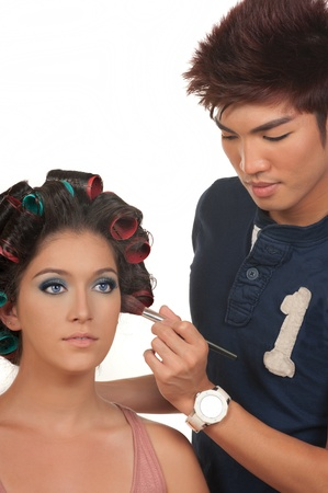 Hair and make up photo