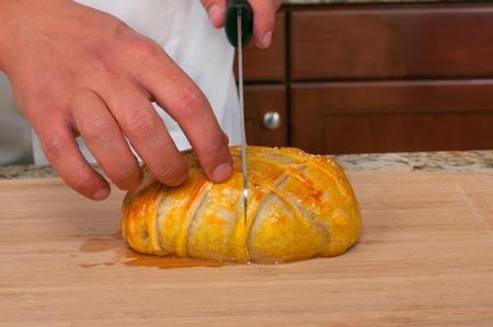 puff pastry: Beef Wellington