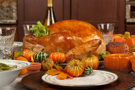 holiday table: Thanksgiving turkey